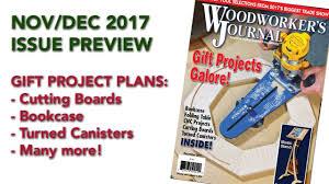 woodworker s journal plans