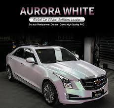 Carbins Aurora White Glossy Car Sticker Vinyl Wraps Customized ...