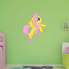 Fathead My Little Pony Fluttershy Wall Decal Walmart Com Walmart Com
