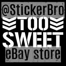 Too Sweet Car Vinyl Decal Cliq Wwe Njpw Bullet Club Young Bucks Nwo Wolfpack Ebay