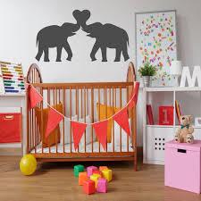 Elephant Nursery Wall Decor Vinyl Decor Wall Decal Customvinyldecor Com