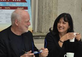Polly Samson and David Gilmour – Signing – No More Workhorse