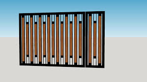 Wood Fence Gate 3d Warehouse