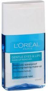 loreal gentle eyes lips express make