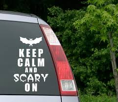 Halloween Decal Halloween Car Decal Bat Decal Halloween Etsy