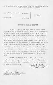 U.S. vs. W. C. Murphy, John L. Gordon, Senna Twist, et al.: Judgment and  Commitment | The Pendergast Years