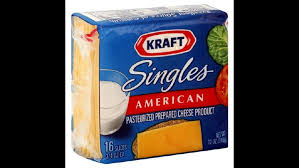 kraft singles first food to receive