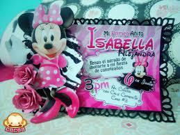 Invitaciones De Minnie Para Isabella Cocoadesigns