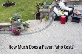 concrete patios vs interlocking pavers