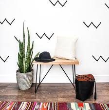 Hand Drawn And Geometric Shaped Decals The Lovely Wall Company