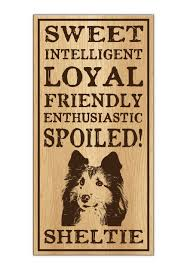 wood dog breed personality sign