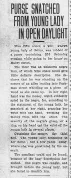 Effie Jones Robbed - Newspapers.com