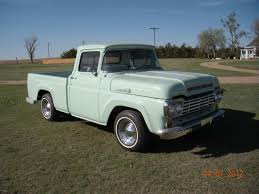 1959 red ford f100 pickup total