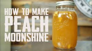 how to make peach moonshine you
