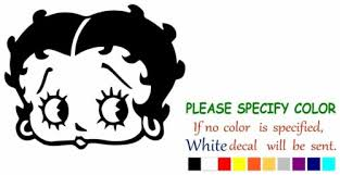 Business Industrial Printing Graphic Arts Betty Boop Face Decal Sticker Jdm Funny Vinyl Car Truck Window Bumper Laptop 10 Other Printing Graphic Arts Printing Graphic Arts Red92 Com