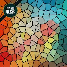 متعدد الألوان كسر زجاج ملون خلفية خلاصة فن الخلفية Png