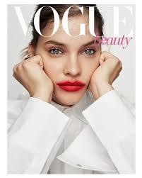 barbara palvin models bold makeup looks