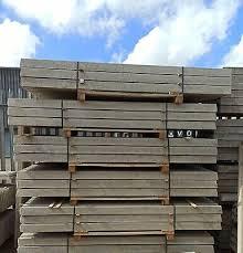 Concrete Fence Posts Garden Fencing 9 50 Picclick Uk