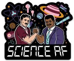 Science Af Vinyl Decal 4 Snarkfish T Shirts