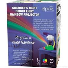Rainbow Led Night Light Projector Lamp Childrens Bedroom Nursery Battery Usb Ekguurzd0