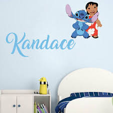 Lilo Stitch Name Series Wall Decal Nursery Vinyl Sticker For Home Decor Ebay