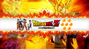 Dragon Ball Z YouTube Channel Art Banner
