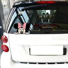 Car Truck Graphics Decals Bogo Walt Disney Mickey Castle Life Car Window Decal Sticker Character Vinyl Van Auto Parts And Vehicles