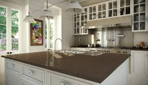 dark brown quartz countertop google