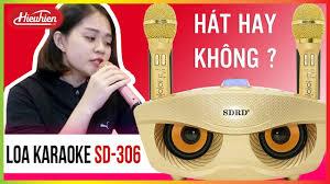 Test Loa Bluetooth Karaoke SD-306 ✅ Tặng Kèm 2 Mic, Rẻ Mà Hay ...