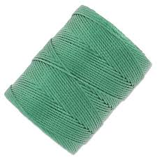 C-Lon Beading Cord 0,50 mm Myrtle Green x 82 m - Perles & Co