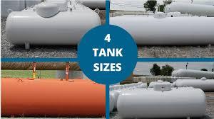 propane tank sizes their common uses