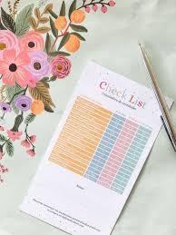 El Check List Definitivo Y Calculadora De Cantidades Para Una
