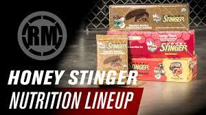 honey stinger nutrition lineup you