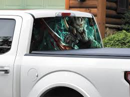 Product League Of Legends Rengar Rear Window Decal Sticker Pick Up Truck Suv Car Any Size