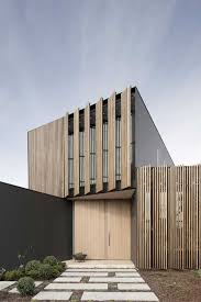 exterior wood slats trendy cladding