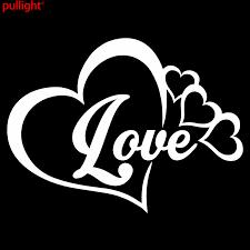 Love Heart Symbol Vinyl Decal Car Window Bumper Sticker Family Forever Bumper Sticker Vinyl Decaldecals Car Aliexpress