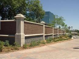 precast concrete noise barrier