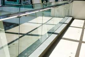 how safe are glass railings commercial