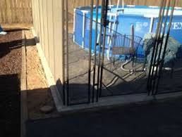 Above Ground Pool Fencing Child Safe Temporary Removable Mesh Pool Fences Gates Fresno Clovis
