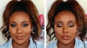 you makeup tutorial brown skin
