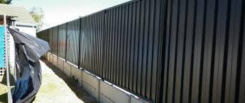 Fencing Perth Retaining Wall Fencing Contractors Colorbond Hardie