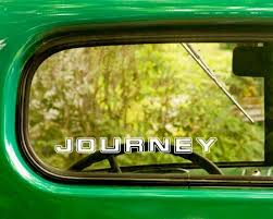 2 Journey Band Decal Stickers The Sticker And Decal Mafia