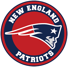New England Patriots Circle Logo Vinyl Decal Sticker 5 Sizes Sportz For Less