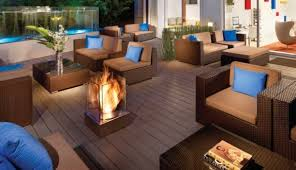 outdoor fireplaces redefining patio
