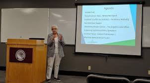 """NPU on Twitter: """"Today Seminar by Ysabel Duron is the founder and CEO of  Latinas Contra Cancer at #NPU, very informative. #breatcanser…  https://t.co/11Ybm4v0Oi"""""""