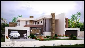 4 bedroom house plan modern style