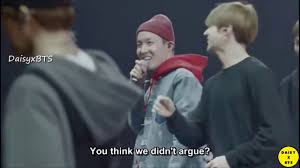 eng sub taehyung cried after an argument jin bts burn the