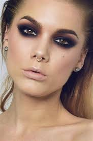 smokey eye makeup for brown eyes