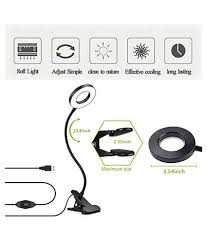 led ring light with stand for you video