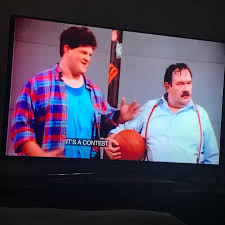 4 years before starting on ER, Abraham Benrubi (Jerry) was on Wings. :  ershow